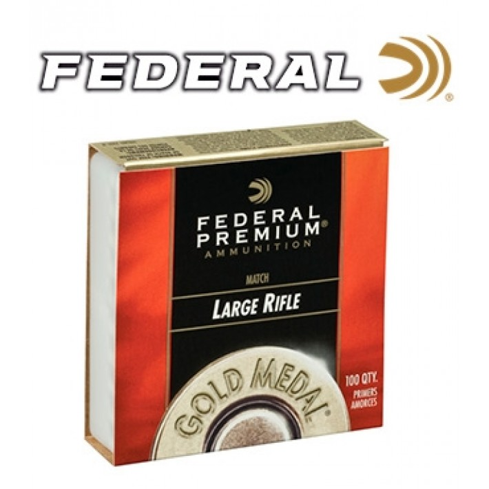 Pistones Federal Gold Medal Large Rifle