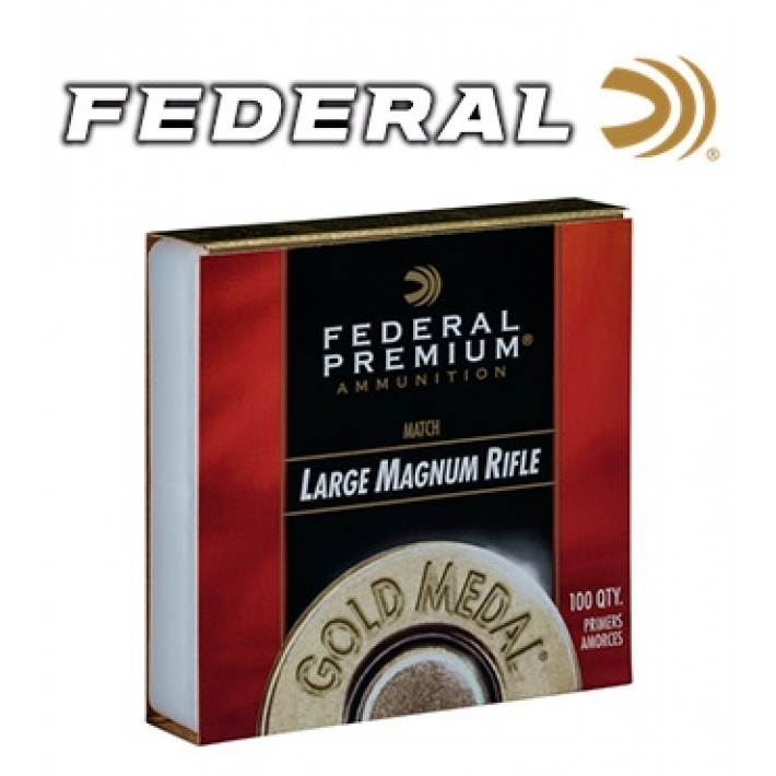 Pistones Federal Gold Medal Large Rifle Magnum