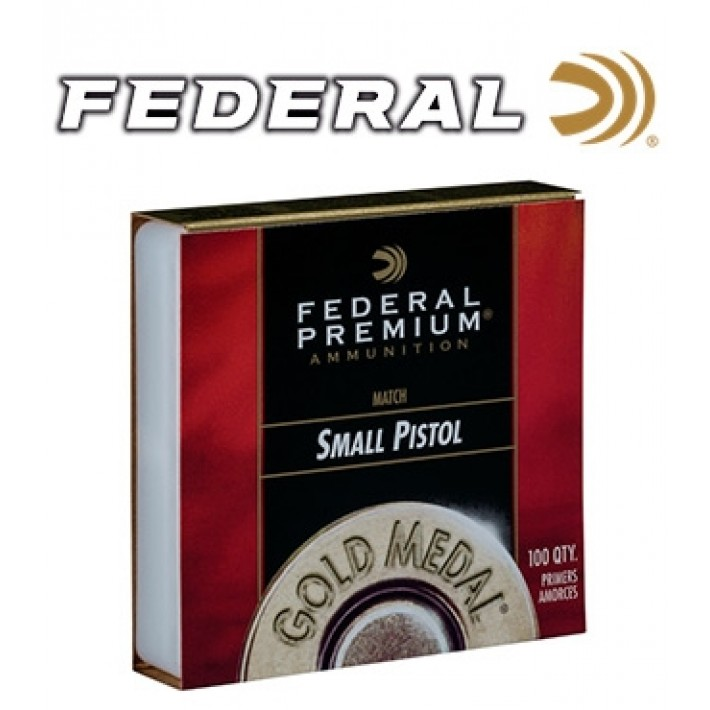 Pistones Federal Gold Medal Small Pistol