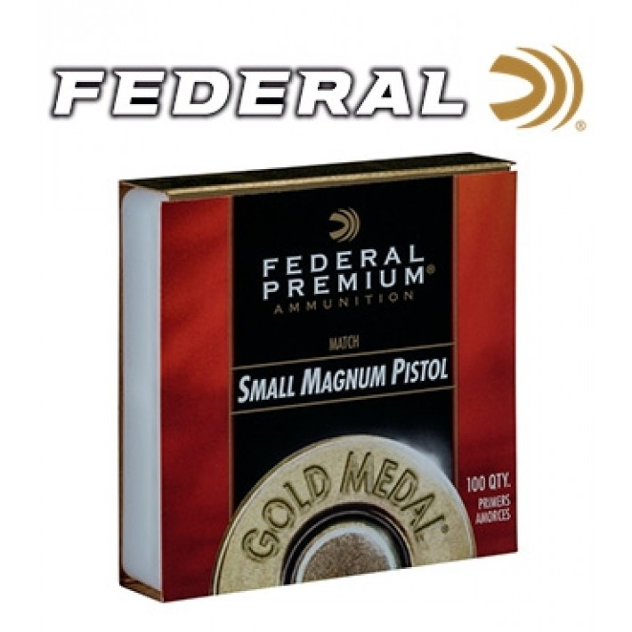 Pistones Federal Gold Medal Small Pistol Magnum