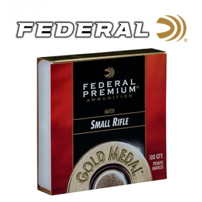 Pistones Federal Gold Medal Small Rifle