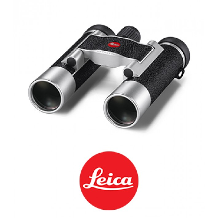 Prismáticos Leica Ultravid 10x25 Silver Leathered