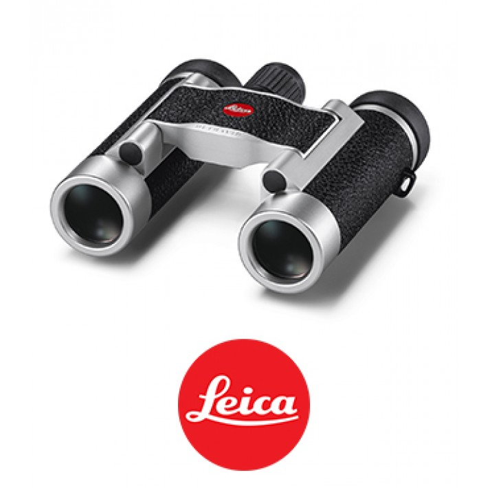 Prismáticos Leica Ultravid 8x20 Silver Leathered