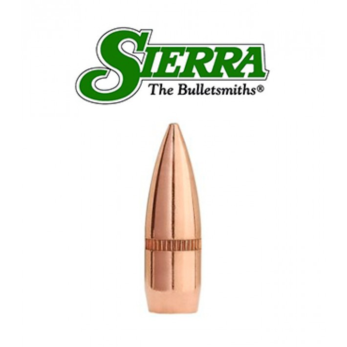 Puntas Sierra GameKing FMJBT con canal crimpado calibre .224 - 55 grains