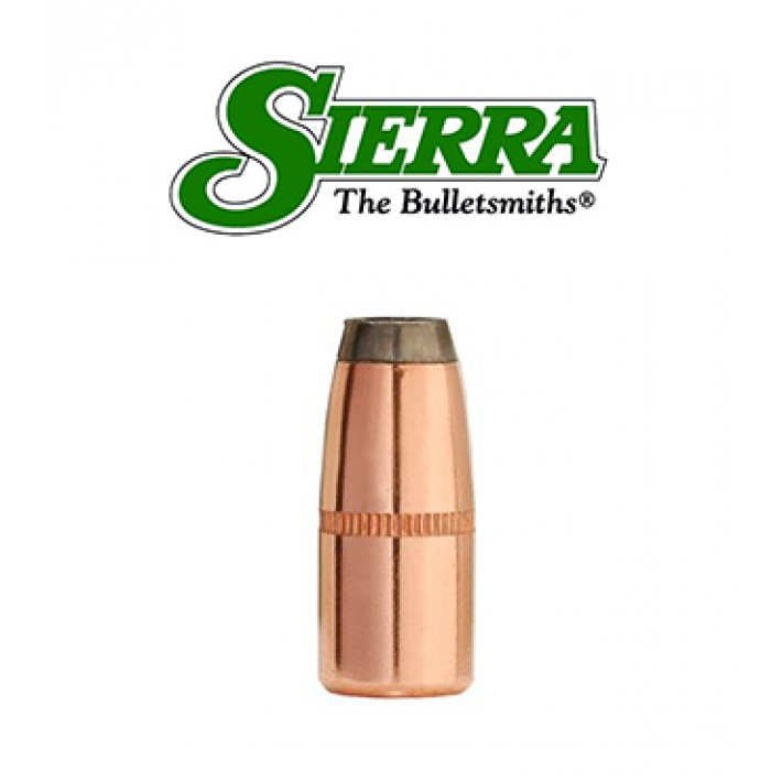 Puntas Sierra Pro-Hunter HPFN calibre .308 - 125 grains con canal de crimpado