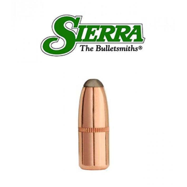 Puntas Sierra Pro-Hunter RN calibre .308 - 150 grains con canal de crimpado