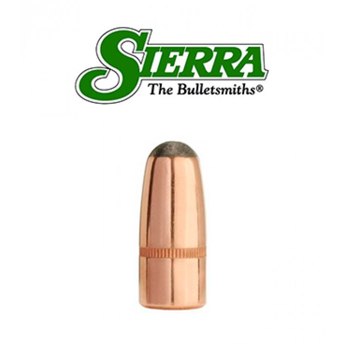 Puntas Sierra Pro-Hunter RN calibre .358 - 200 grains con canal de crimpado