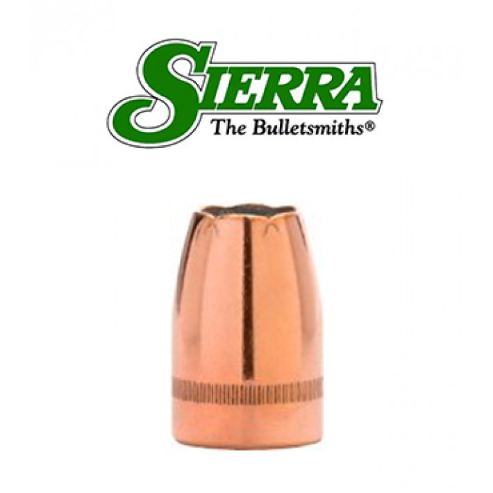 Puntas Sierra Sig Sauer V-Crown JHP calibre 9mm (.355) - 124 grains con canal de crimpado