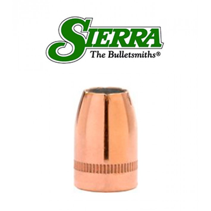 Puntas Sierra Sig Sauer V-Crown JHP calibre 9mm (.355) - 125 grains con canal de crimpado