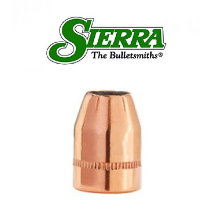 Puntas Sierra Sports Master JHP Blitz con canal de crimpado calibre .38 (.357) - 110 grains