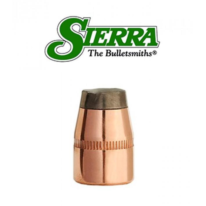 Puntas Sierra Sports Master JSP calibre .38 (.357) - 125 grains con canal de crimpado
