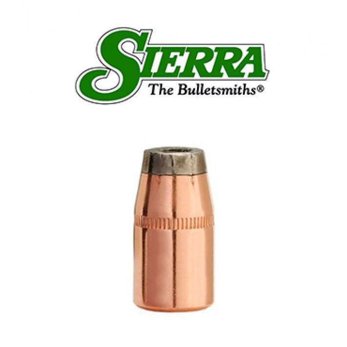 Puntas Sierra Sports Master JHC calibre .38 (.357) - 158 grains con canal de crimpado