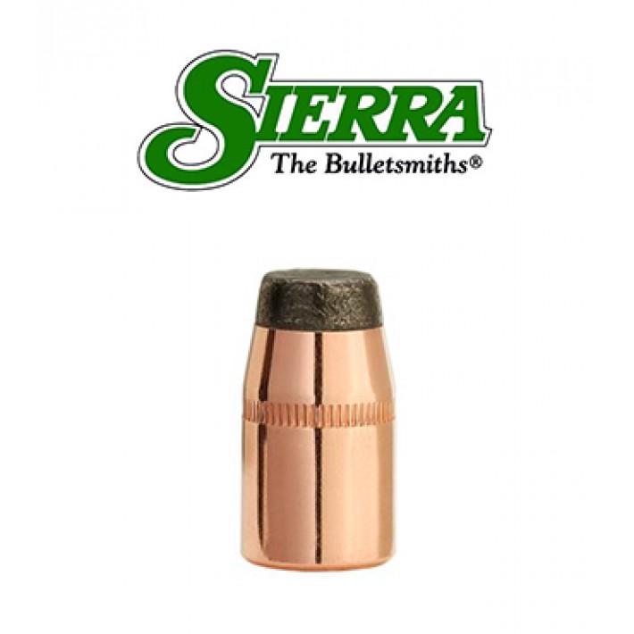 Puntas Sierra Sports Master JSP calibre .38 (.357) - 158 grains con canal de crimpado