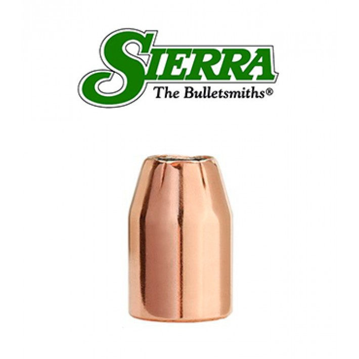 Puntas Sierra Sports Master JHP calibre 9mm (.355) - 125 grains
