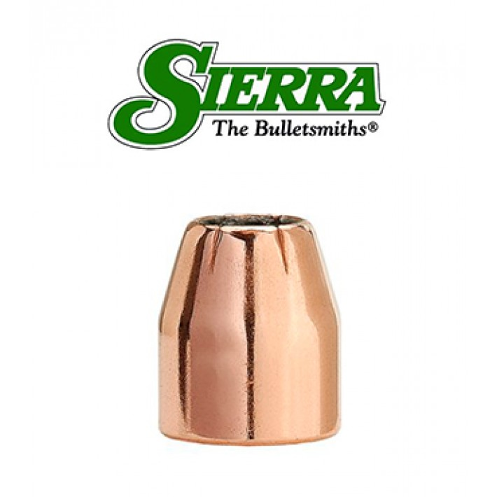 Puntas Sierra Sports Master JHP calibre 9mm (.355) - 90 grains