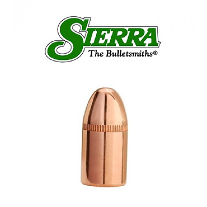 Puntas Sierra Tournament Master FMJ Match calibre .38 (.357) - 170 grains con canal de crimpado