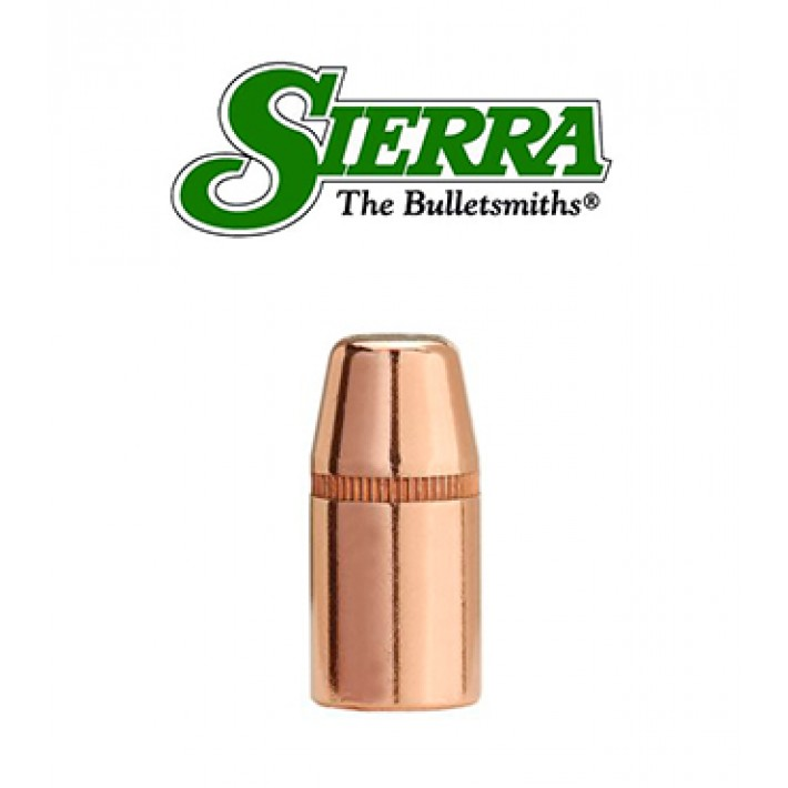 Puntas Sierra Tournament Master FPJ Match calibre .38 (.357) - 180 grains con canal de crimpado