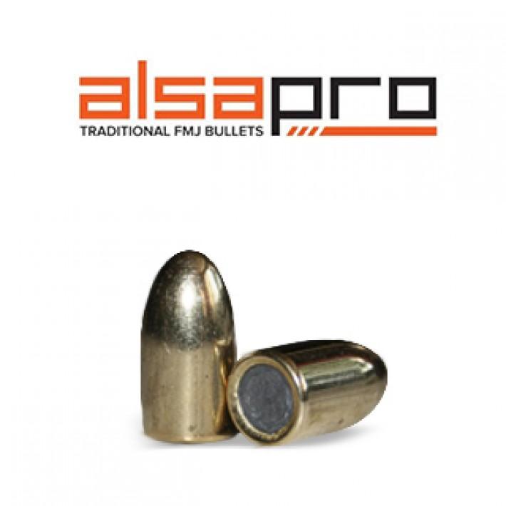 Puntas Alsa Pro FMJ 9mm (.355) - 147 gr 500 unidades
