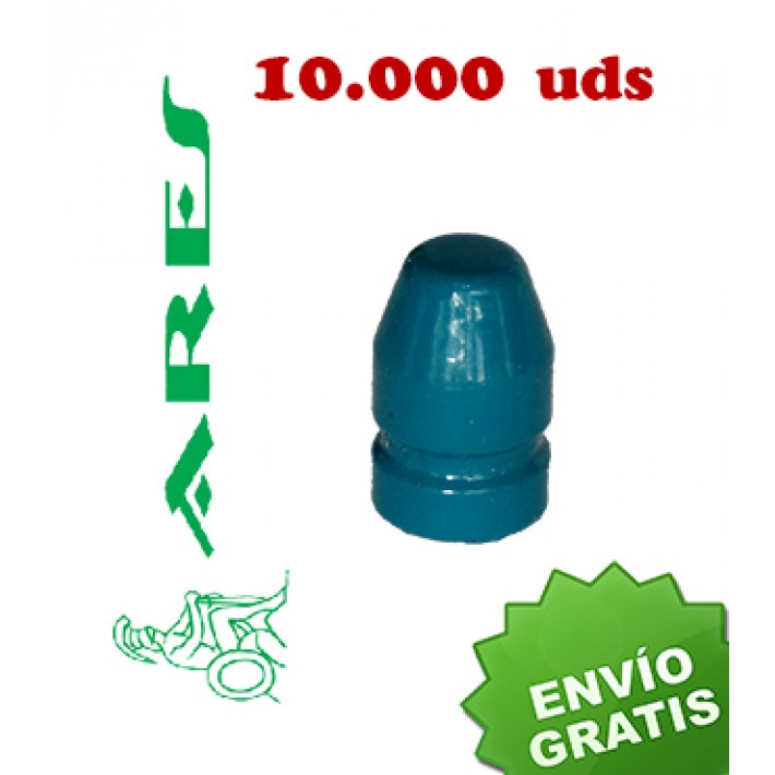 Puntas Ares EPRX FP calibre .40 (.401) - 180 grains 10.000 unidades