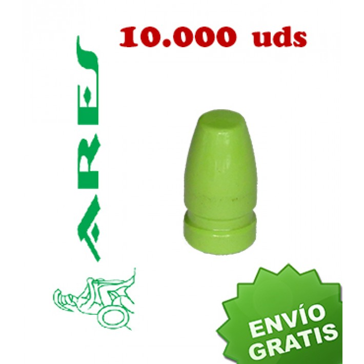 Puntas Ares EPRX FP calibre 9mm (.356) - 147 grains 10.000 unidades