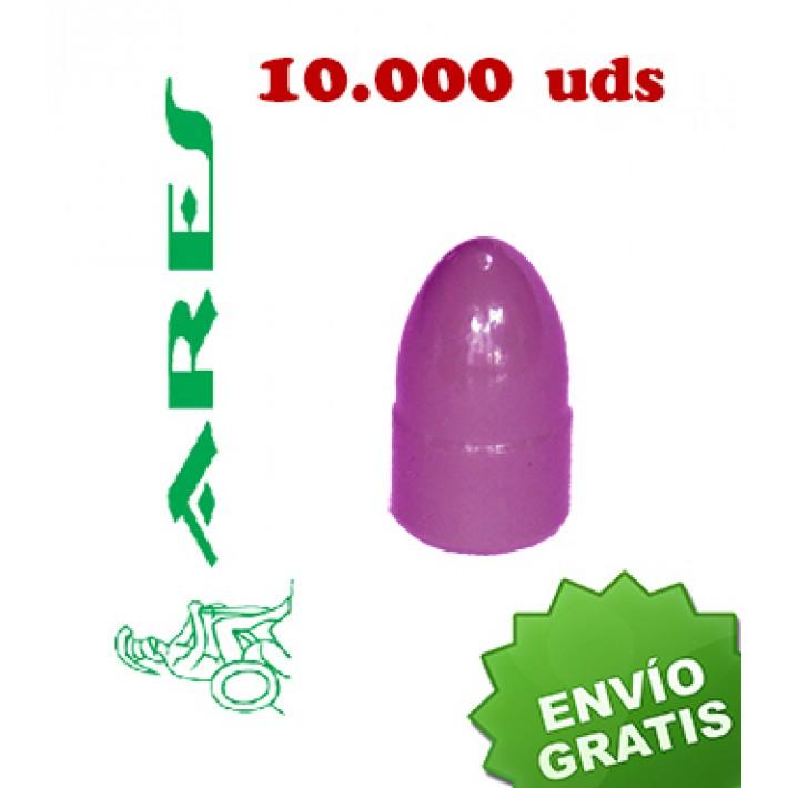 Puntas Ares EPRX RN-S calibre 9mm (.356) - 125 grains 10.000 unidades