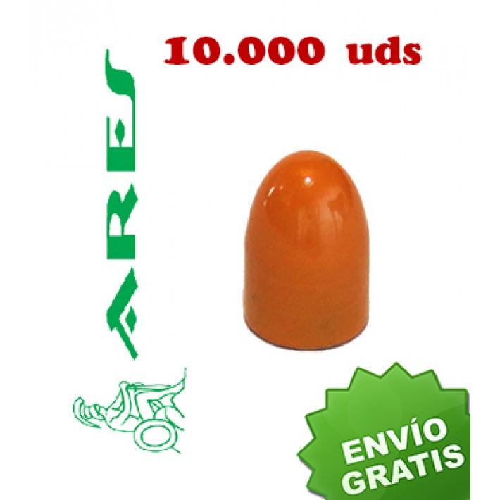 Puntas Ares EPRX RN calibre 9mm (.356) - 115 grains 10.000 unidades