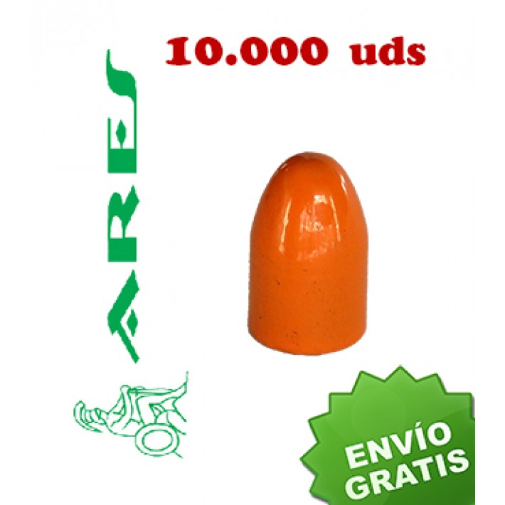 Puntas Ares EPRX RN calibre 9mm (.356) - 125 grains 10.000 unidades