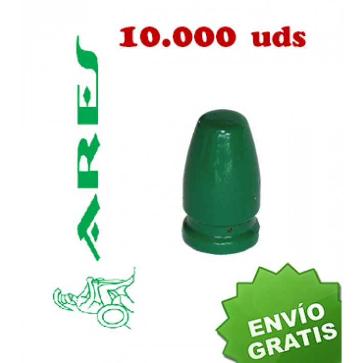 Puntas Ares EPRX RN calibre 9mm (.356) - 135 grains 10.000 unidades