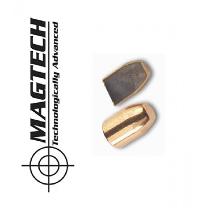 Puntas CBC - Magtech FMJ Flat Nose calibre .38 (.357) - 158 grains