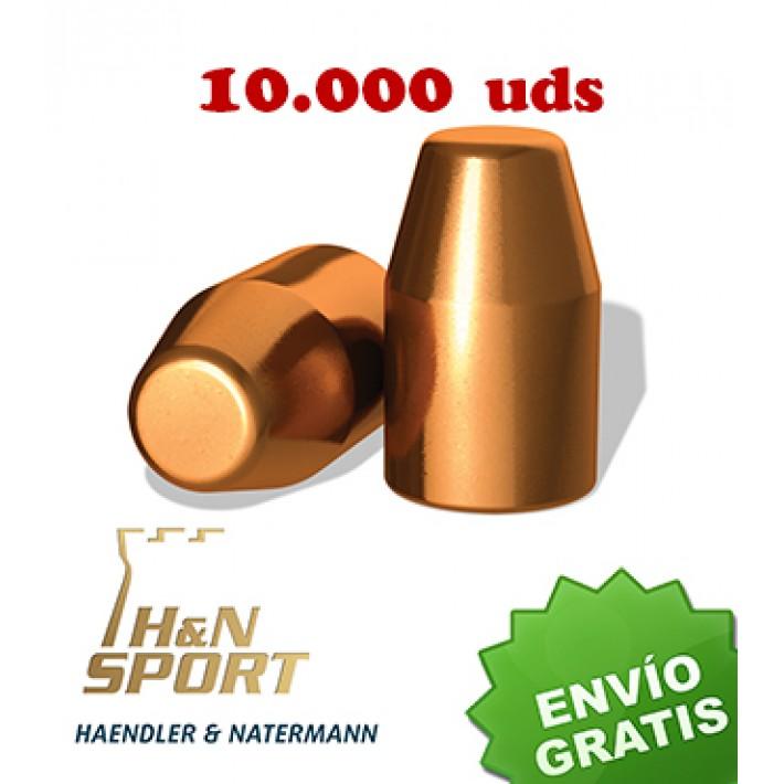 Puntas H&N HS TC .40 (.401) - 195 grains 10.000 unidades