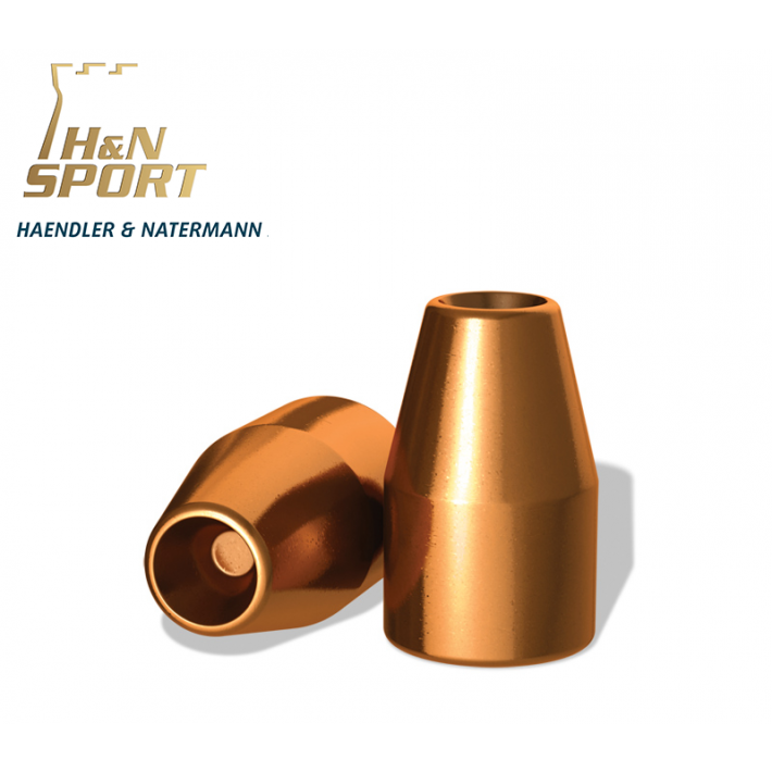 Puntas H&N HS HP 9mm (.356) - 125 grains 100 unidades