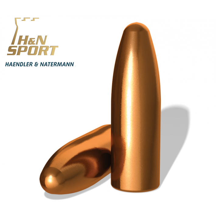 Puntas H&N HS RN calibre .303 (.312) - 180 grains 100 unidades