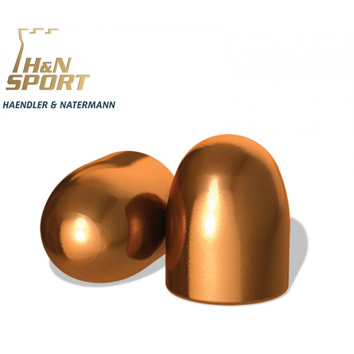 Puntas H&N HS RN .45 (.452) - 200 grains 500 unidades