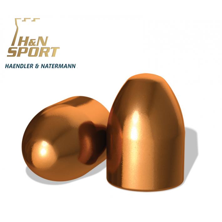 Puntas H&N HS RN .45 (.452) - 230 grains 500 unidades