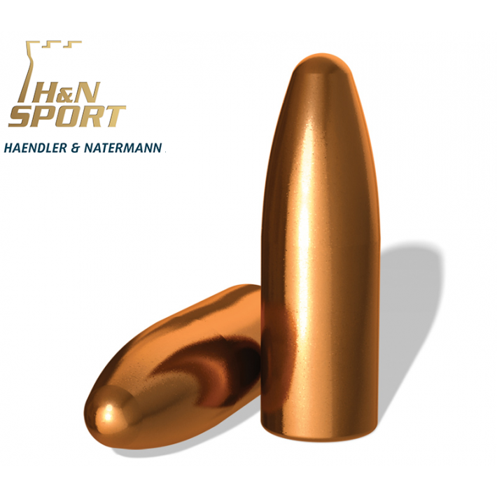 Puntas H&N HS RN calibre .323 (8mm) - 190 grains 100 unidades