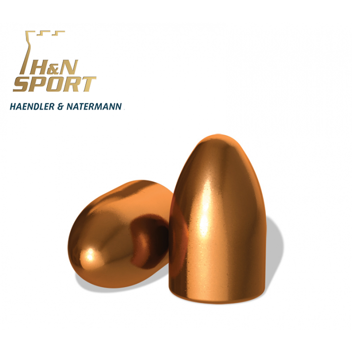 Puntas H&N HS RN 9mm (.356) - 125 grains 500 unidades