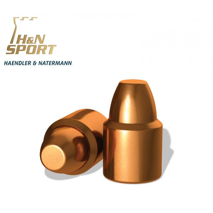 Puntas H&N HS SWC 9mm (.356) - 125 grains 100 unidades