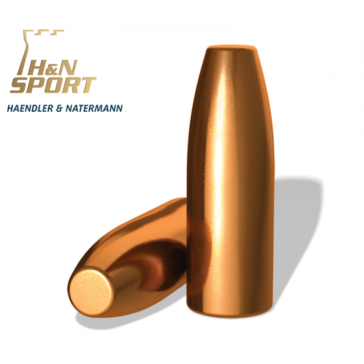 Puntas H&N HS TC calibre .308 - 165 grains 100 unidades