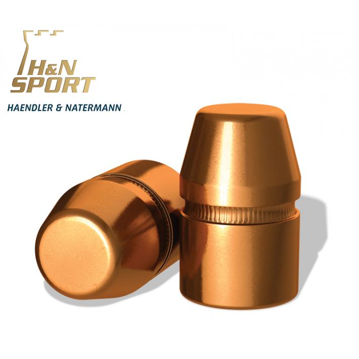 Puntas H&N HS TC .44 (.429) - 240 grains con canal de crimpado 50 unidades