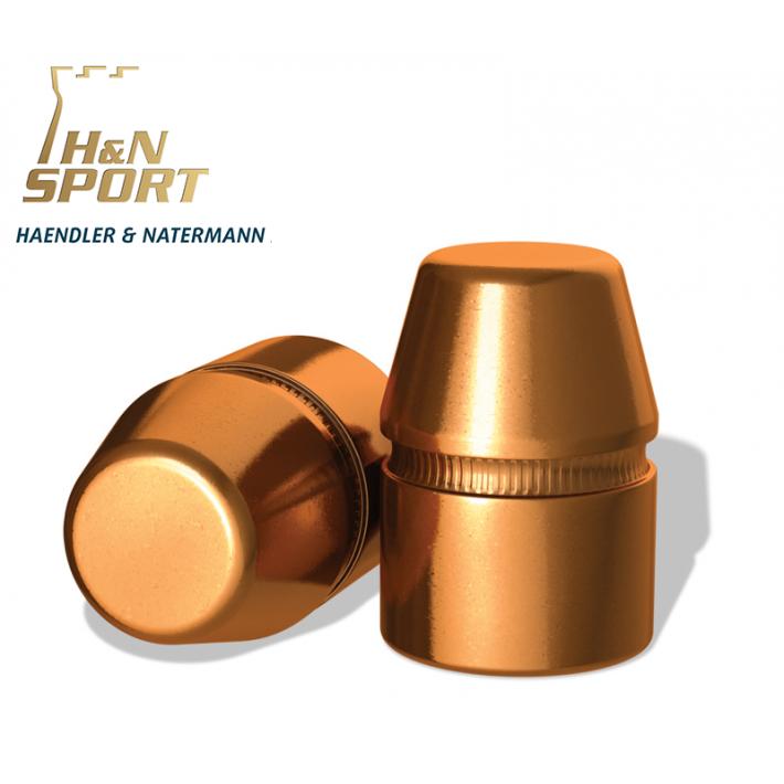 Puntas H&N HS TC .45 (.452) - 250 grains con canal de crimpado 50 unidades