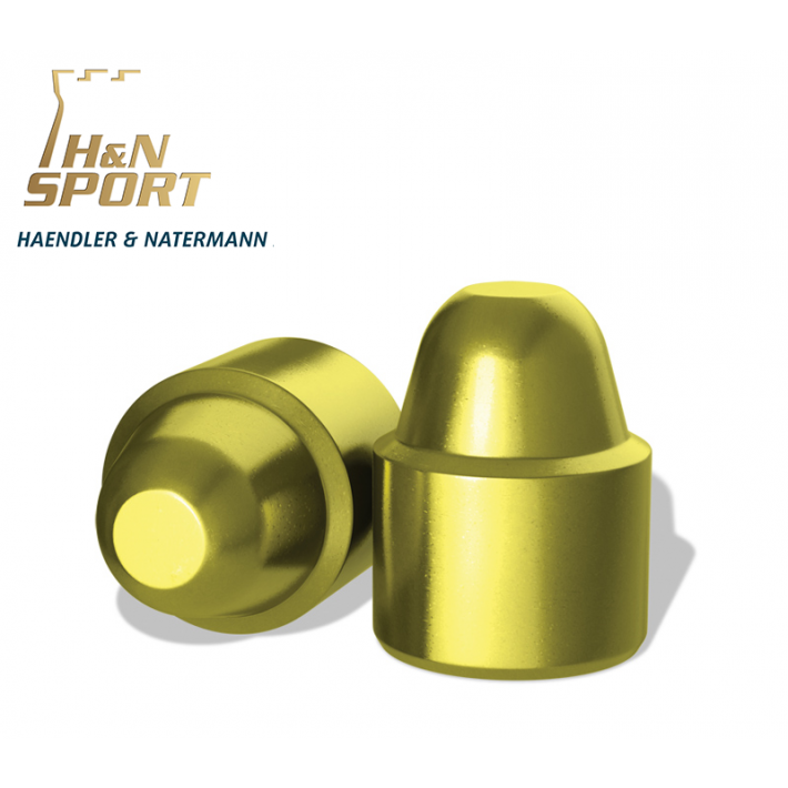 Puntas H&N Plastificadas SWC .45 (.452) - 200 grains 500 unidades