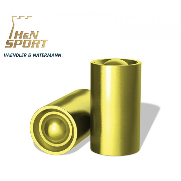 Puntas H&N Plastificadas WCHB .38 (.355) - 148 grains 100 unidades