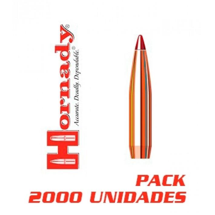 Puntas Hornady ELD Match calibre .264 (6,5mm) - 147 grains