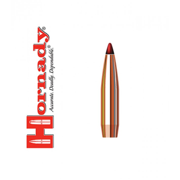 Puntas Hornady ELD-X calibre .284 (7mm) - 162 grains