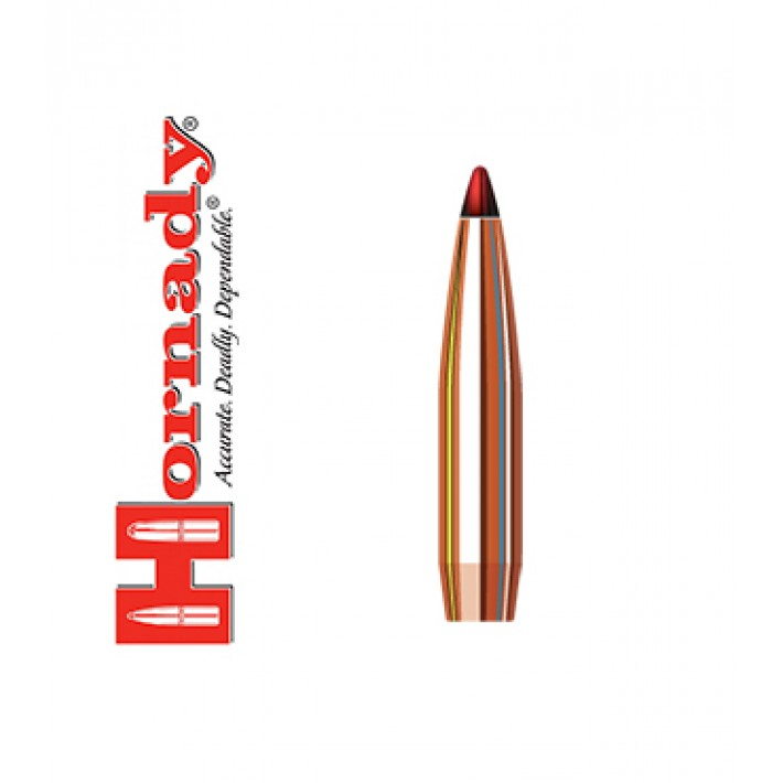 Puntas Hornady ELD-X calibre .284 (7mm) - 175 grains
