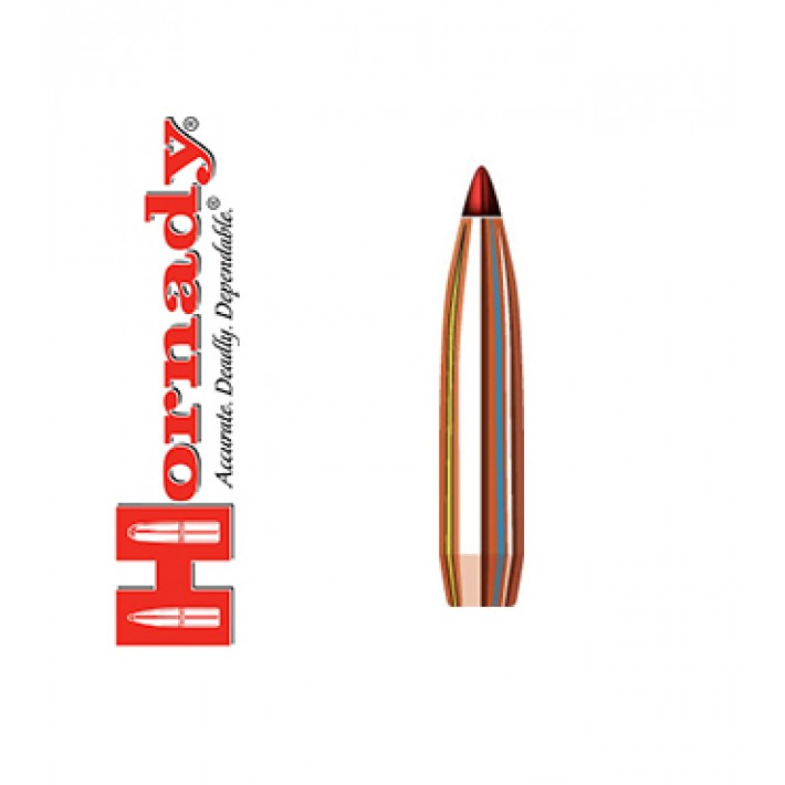 Puntas Hornady ELD Match calibre .264 (6,5mm) - 140 grains