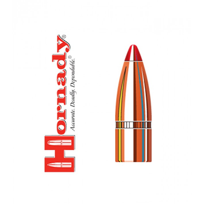 Puntas Hornady FTX calibre .308 - 135 grains