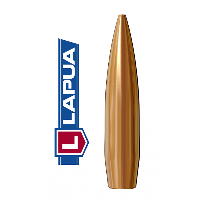 Puntas Lapua Scenar calibre .264 (6,5mm) - 123 grains