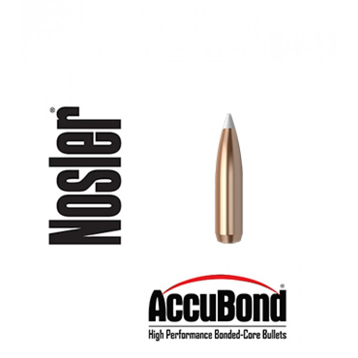 Puntas Nosler Accubond calibre .25 (.257) - 110 grains