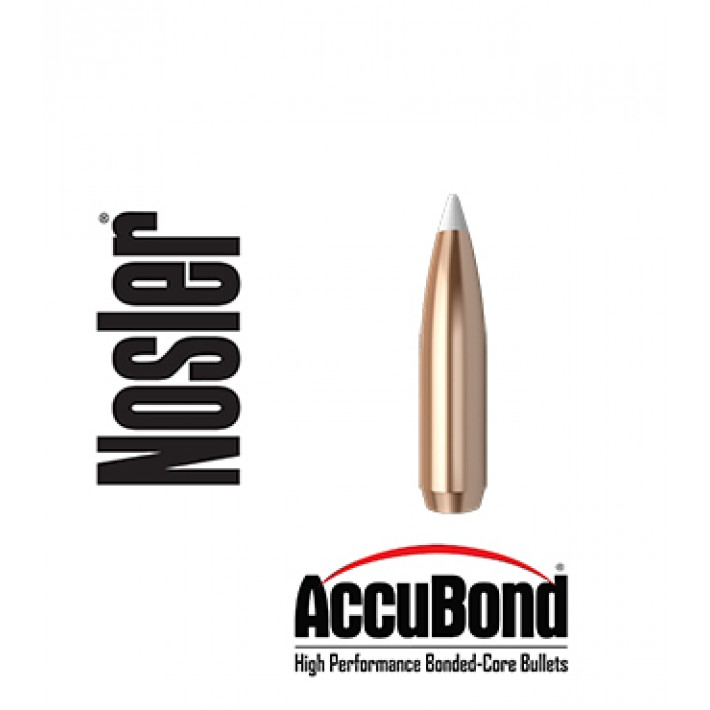 Puntas Nosler Accubond calibre .308 - 200 grains